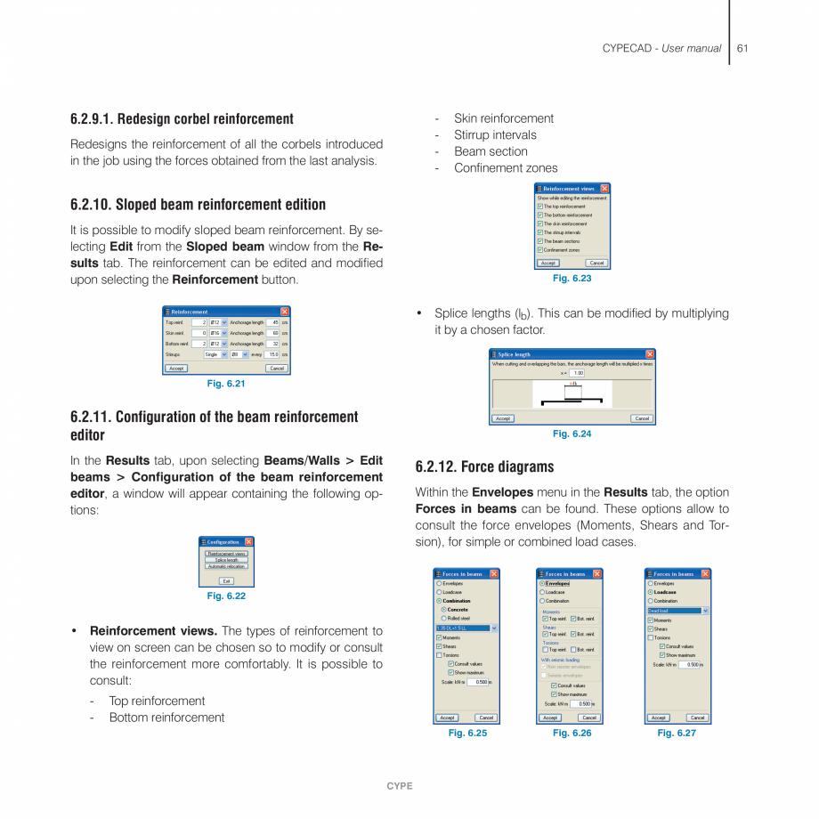 Pagina 61 - Manual de utilizare CYPE CYPECAD Instructiuni montaj, utilizare Engleza n analysed,...