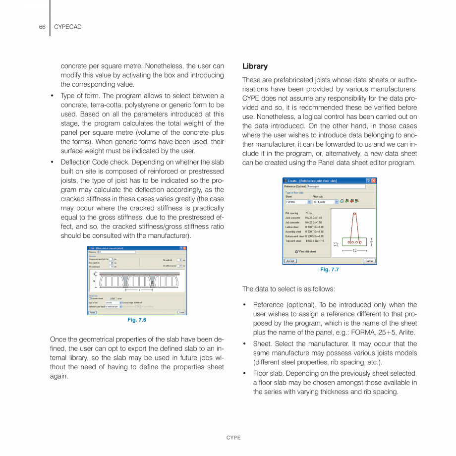 Pagina 66 - Manual de utilizare CYPE CYPECAD Instructiuni montaj, utilizare Engleza gth (elastic...