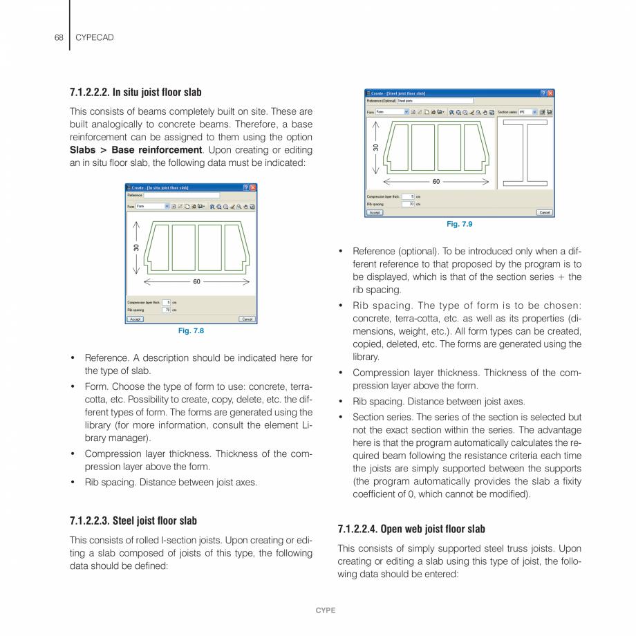 Pagina 68 - Manual de utilizare CYPE CYPECAD Instructiuni montaj, utilizare Engleza n displayed in...