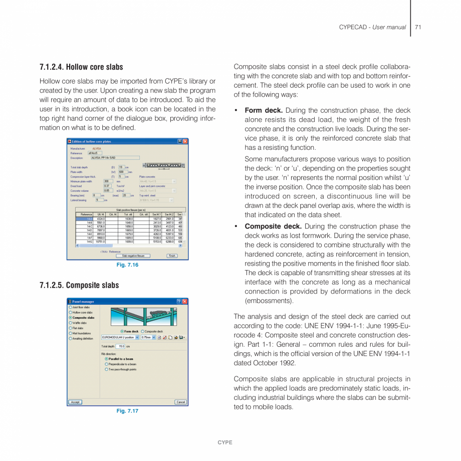 Pagina 71 - Manual de utilizare CYPE CYPECAD Instructiuni montaj, utilizare Engleza   This option...