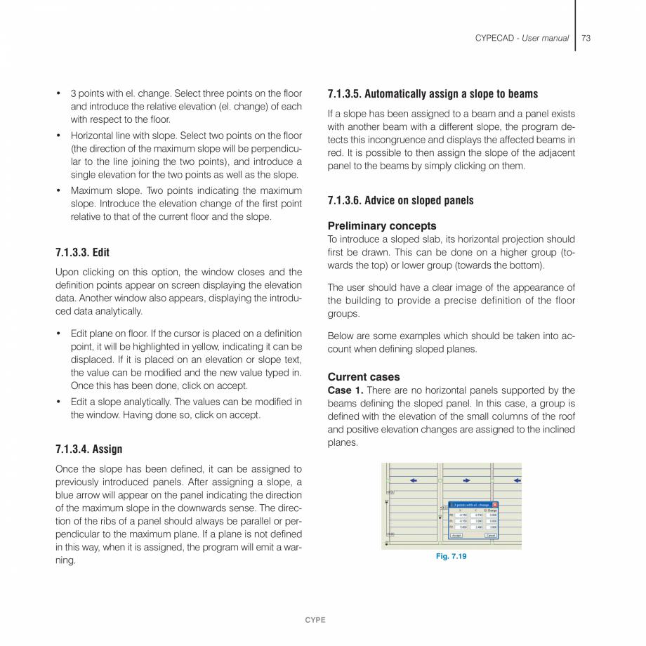 Pagina 73 - Manual de utilizare CYPE CYPECAD Instructiuni montaj, utilizare Engleza e the With...