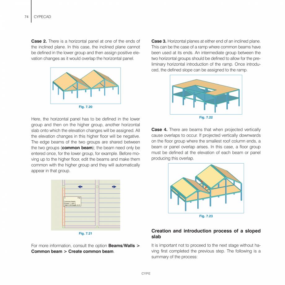 Pagina 74 - Manual de utilizare CYPE CYPECAD Instructiuni montaj, utilizare Engleza ocode 6 (Masonry...