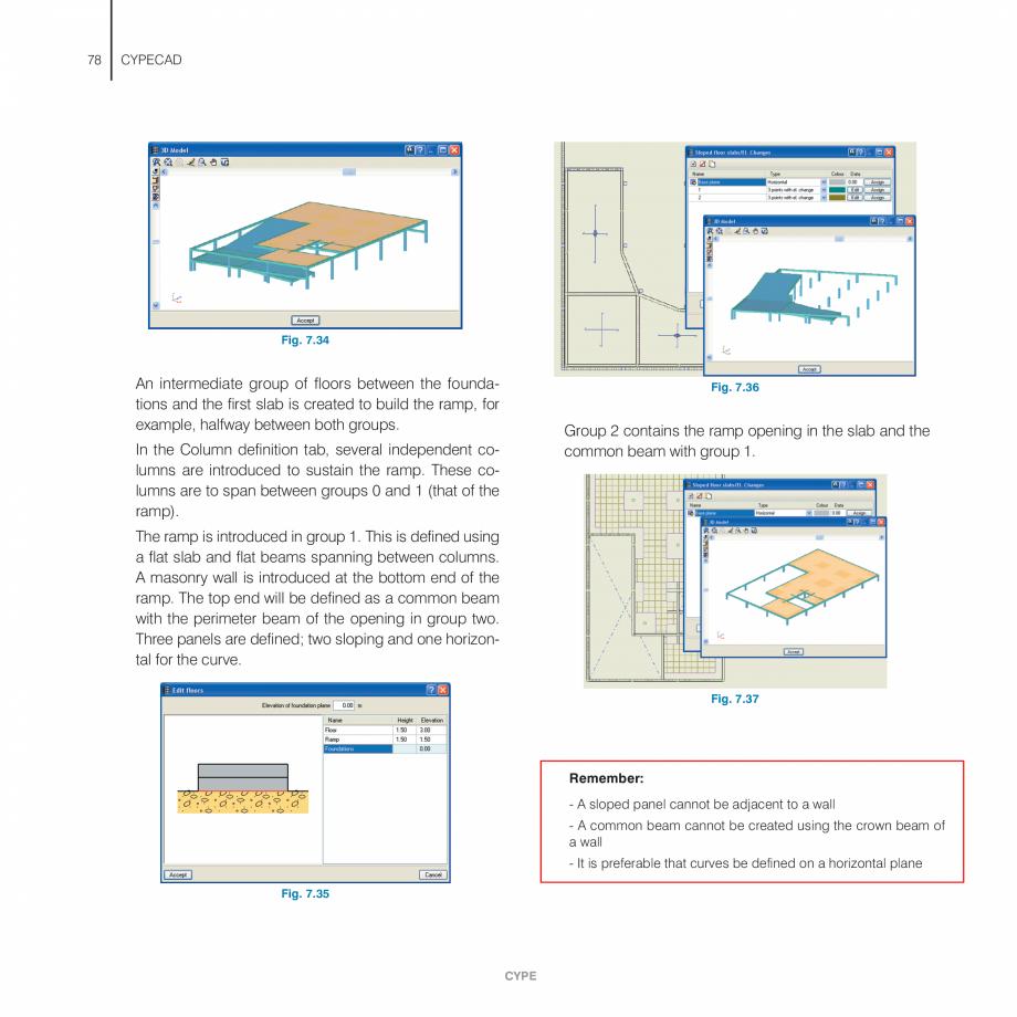 Pagina 78 - Manual de utilizare CYPE CYPECAD Instructiuni montaj, utilizare Engleza tension in the...