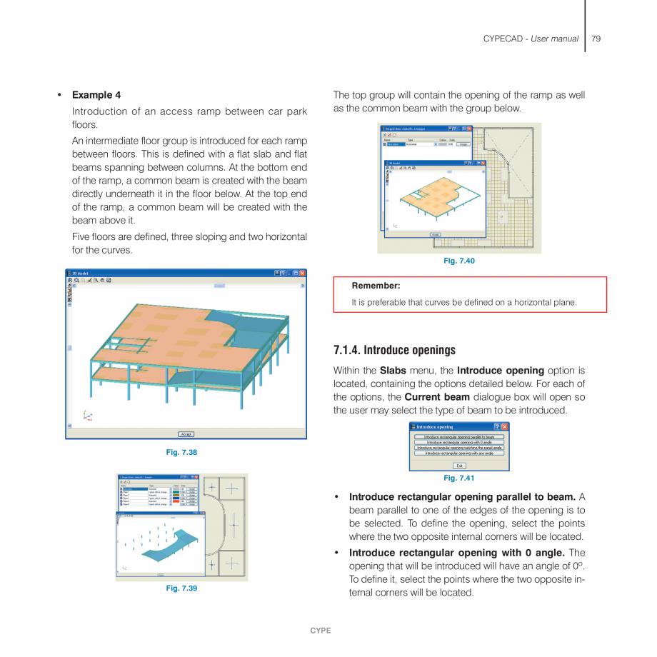 Pagina 79 - Manual de utilizare CYPE CYPECAD Instructiuni montaj, utilizare Engleza ype of wall that...