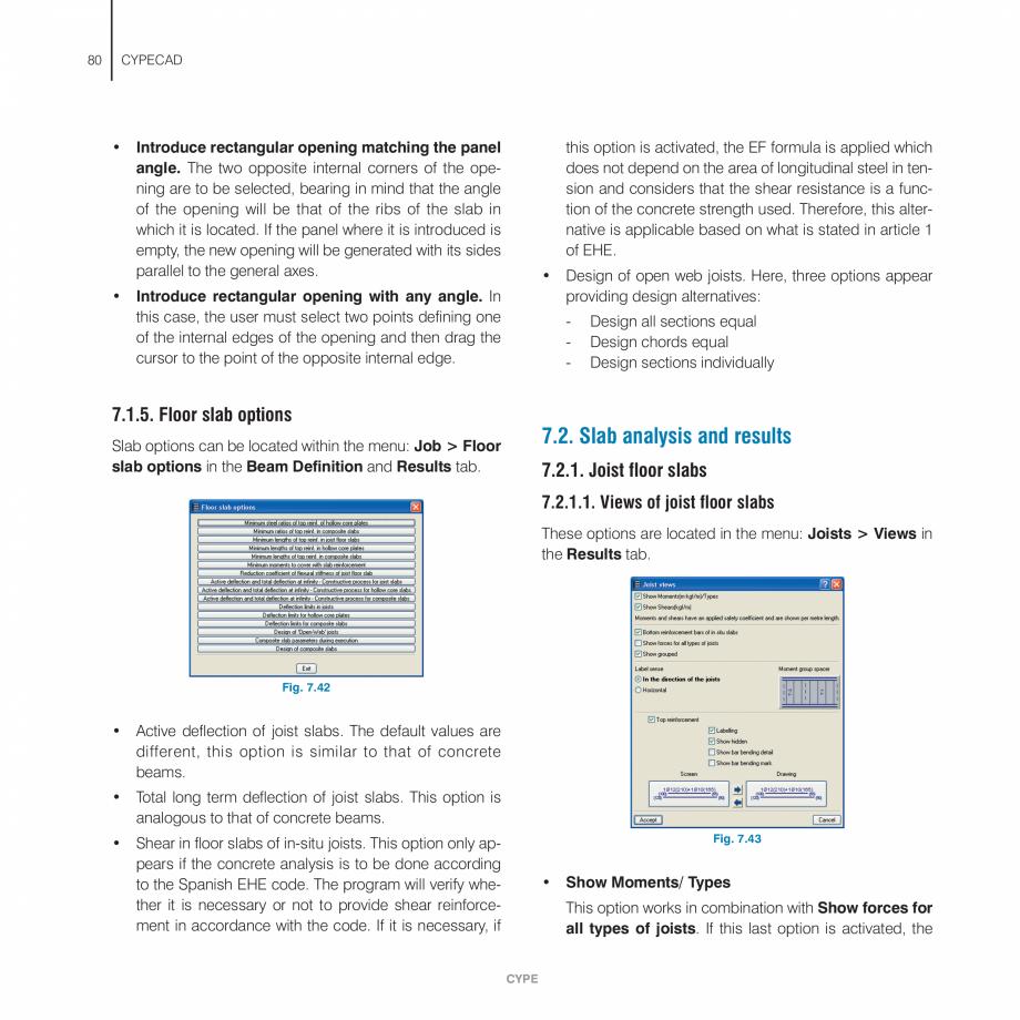 Pagina 80 - Manual de utilizare CYPE CYPECAD Instructiuni montaj, utilizare Engleza  the walls.  5.1...