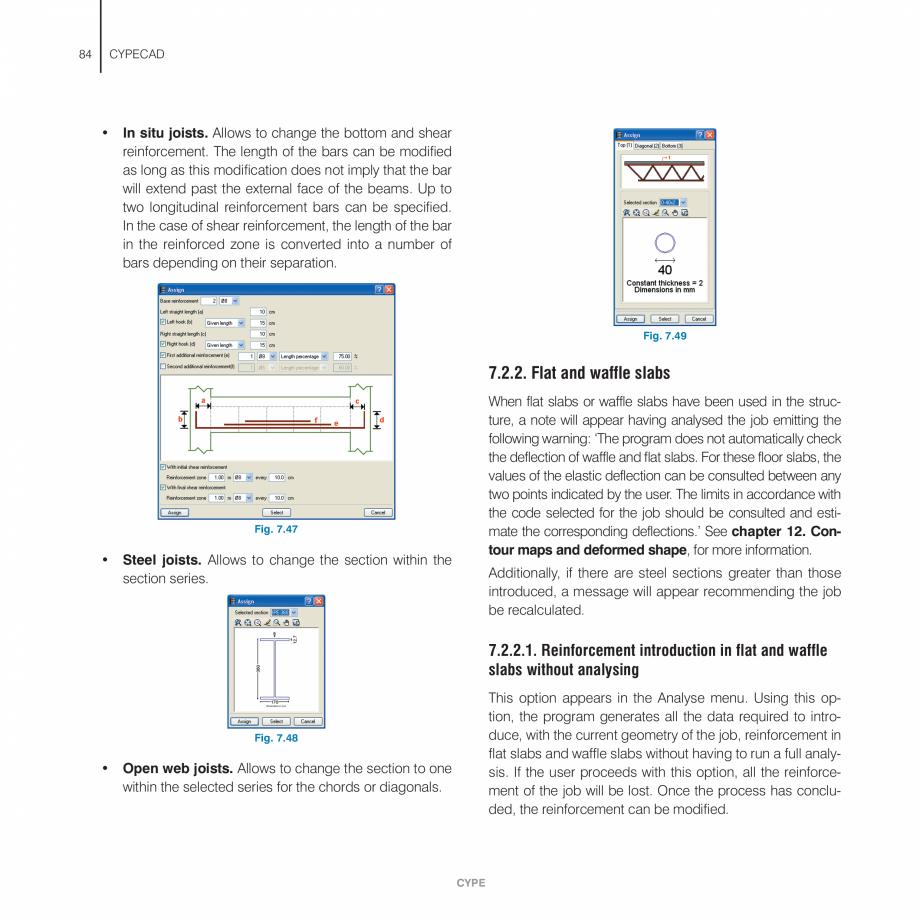 Pagina 84 - Manual de utilizare CYPE CYPECAD Instructiuni montaj, utilizare Engleza will be visible)...