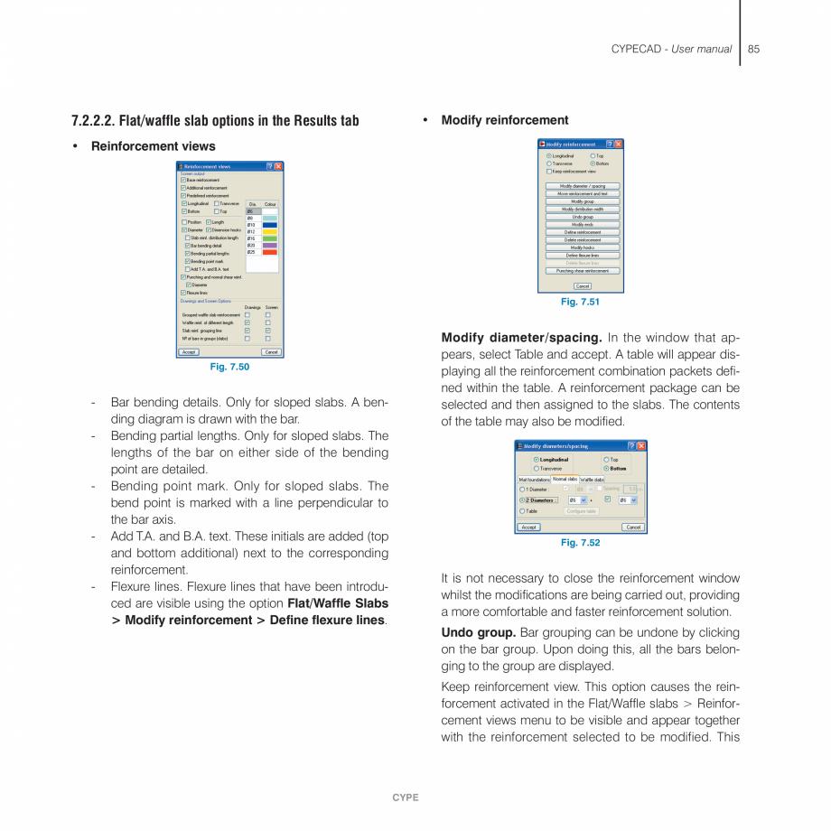 Pagina 85 - Manual de utilizare CYPE CYPECAD Instructiuni montaj, utilizare Engleza gh and final...