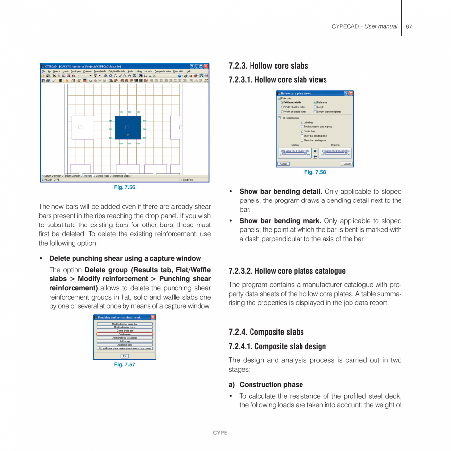 Pagina 87 - Manual de utilizare CYPE CYPECAD Instructiuni montaj, utilizare Engleza en the highest...
