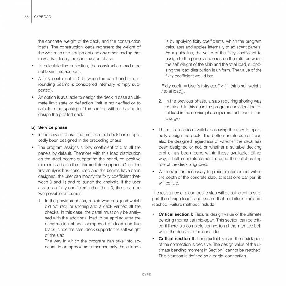 Pagina 88 - Manual de utilizare CYPE CYPECAD Instructiuni montaj, utilizare Engleza ams are defined ...