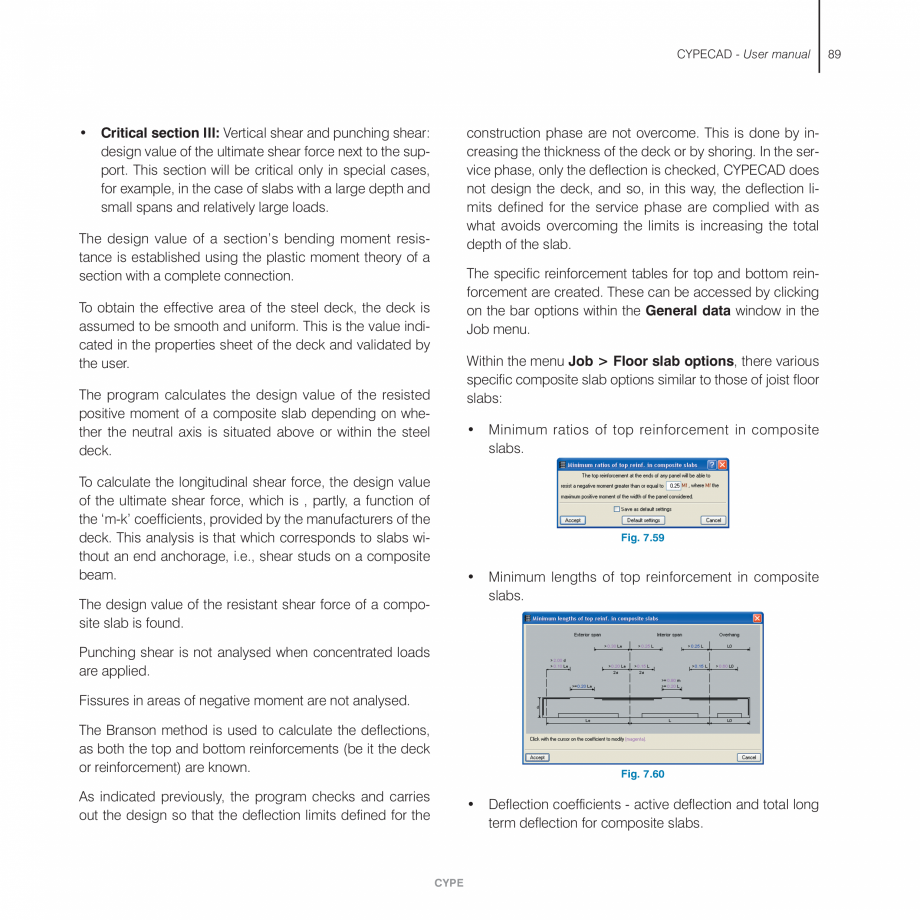 Pagina 89 - Manual de utilizare CYPE CYPECAD Instructiuni montaj, utilizare Engleza ms and this is...