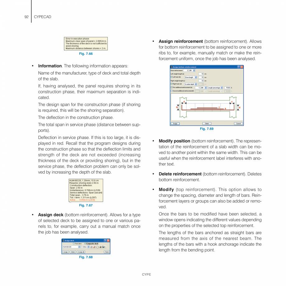Pagina 92 - Manual de utilizare CYPE CYPECAD Instructiuni montaj, utilizare Engleza t snaps...