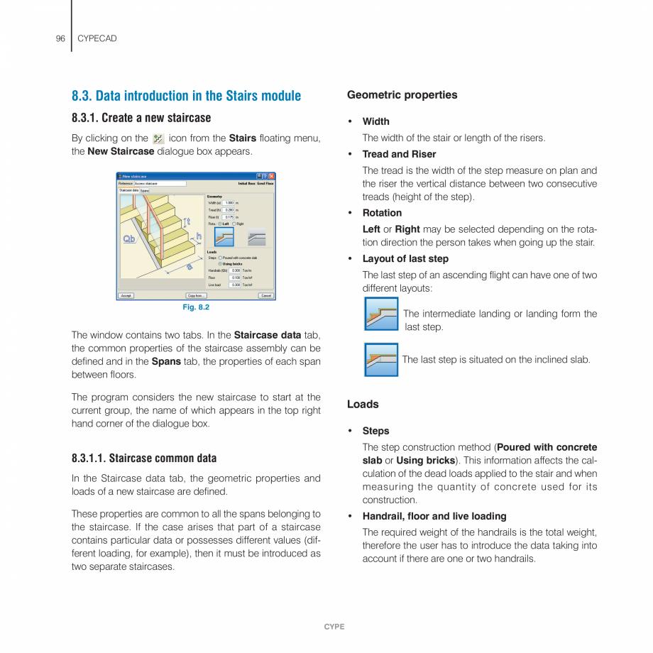 Pagina 96 - Manual de utilizare CYPE CYPECAD Instructiuni montaj, utilizare Engleza  and transverse ...