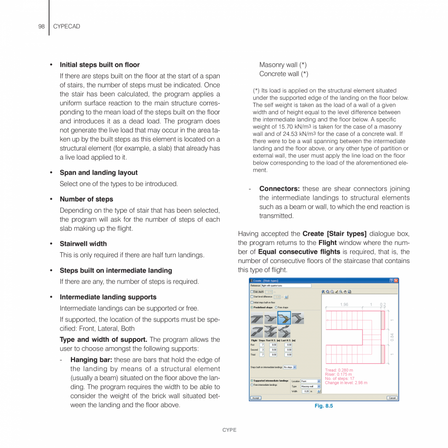Pagina 98 - Manual de utilizare CYPE CYPECAD Instructiuni montaj, utilizare Engleza the Add diagonal...