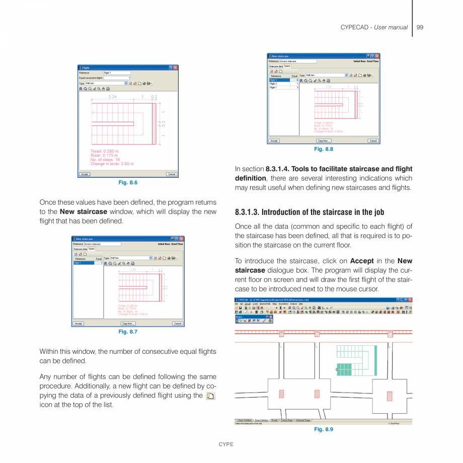 Pagina 99 - Manual de utilizare CYPE CYPECAD Instructiuni montaj, utilizare Engleza he property to...