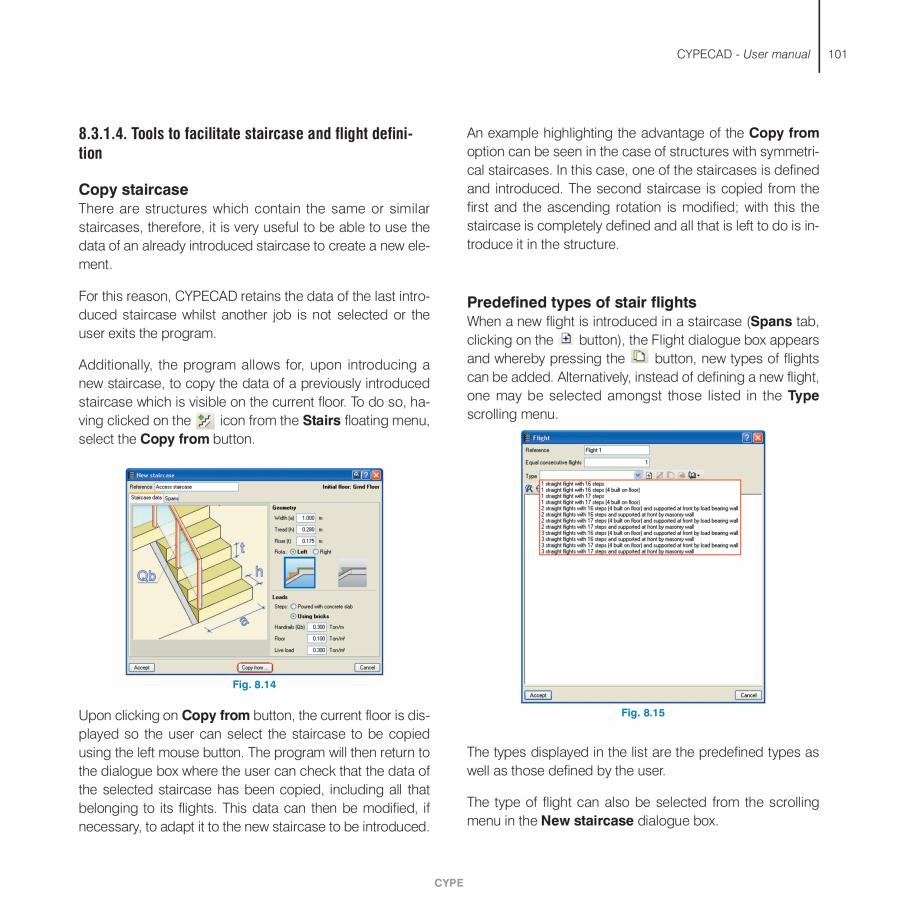 Pagina 101 - Manual de utilizare CYPE CYPECAD Instructiuni montaj, utilizare Engleza ly, the beam...