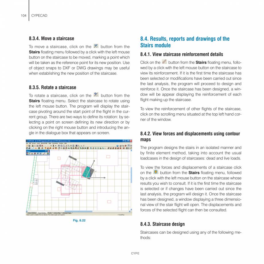 Pagina 104 - Manual de utilizare CYPE CYPECAD Instructiuni montaj, utilizare Engleza ion works and...