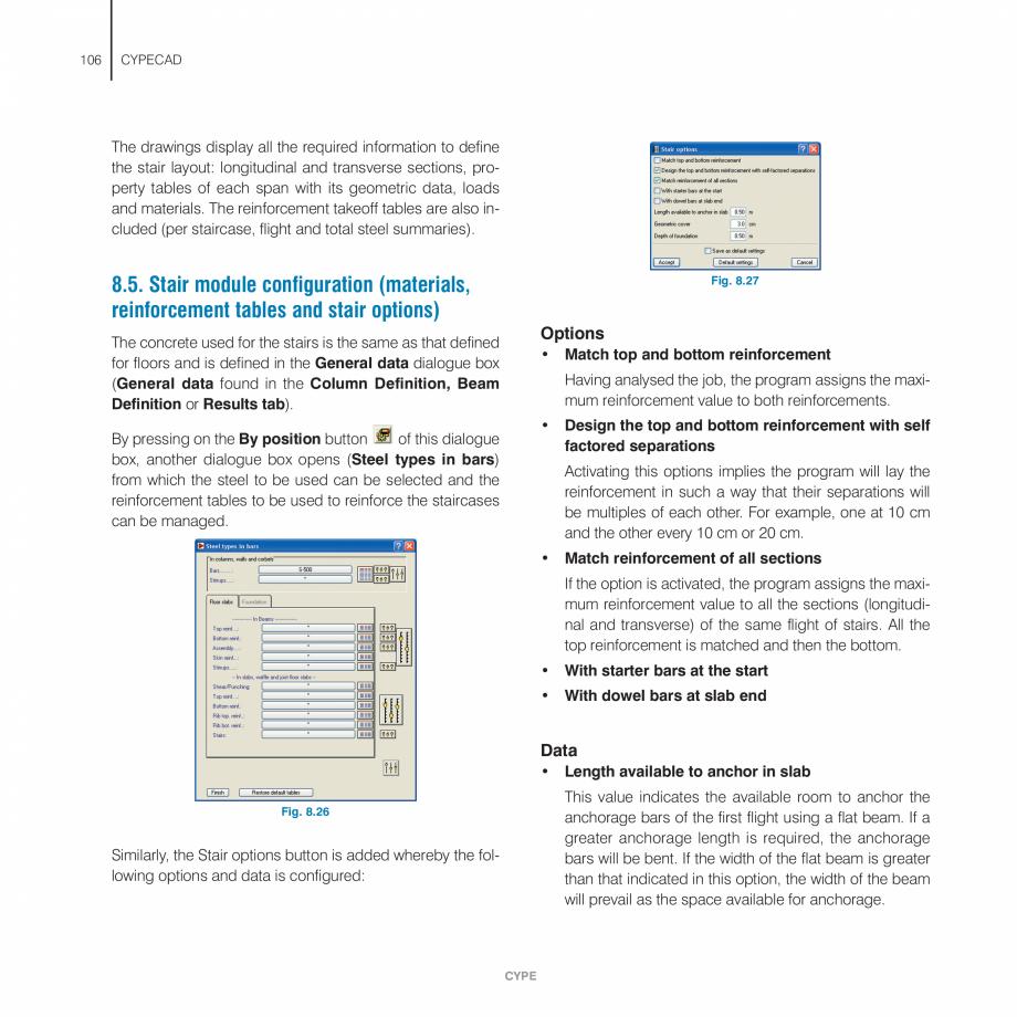 Pagina 106 - Manual de utilizare CYPE CYPECAD Instructiuni montaj, utilizare Engleza length. This...