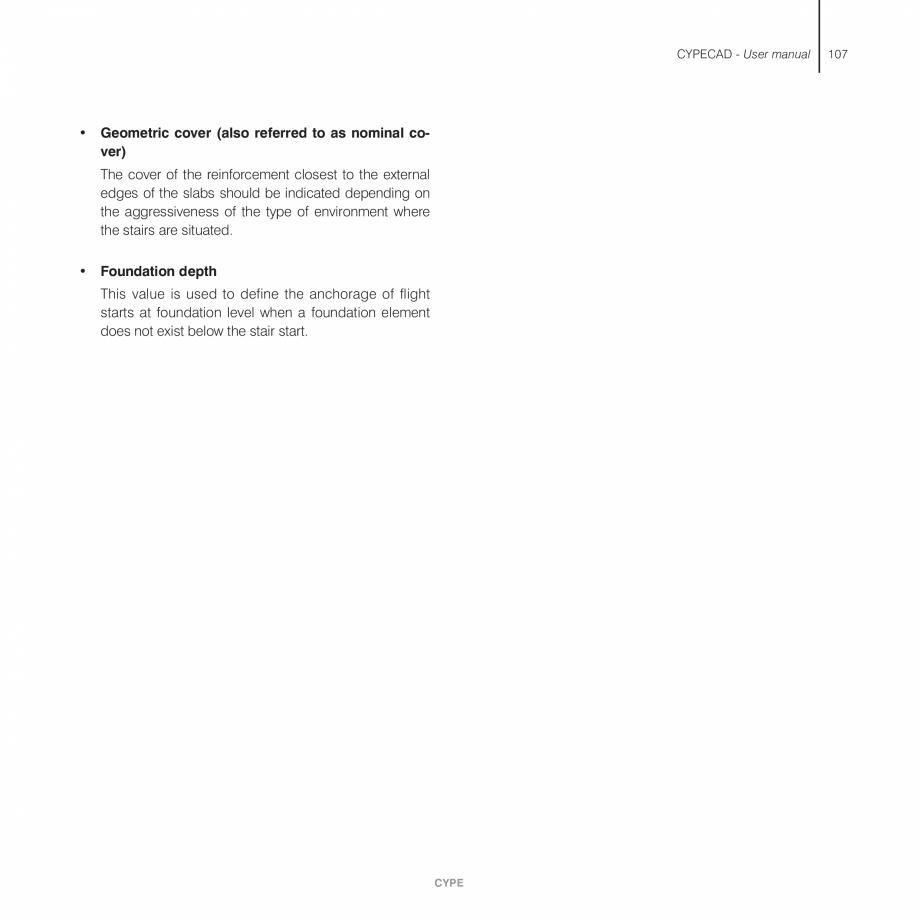 Pagina 107 - Manual de utilizare CYPE CYPECAD Instructiuni montaj, utilizare Engleza on forces,...
