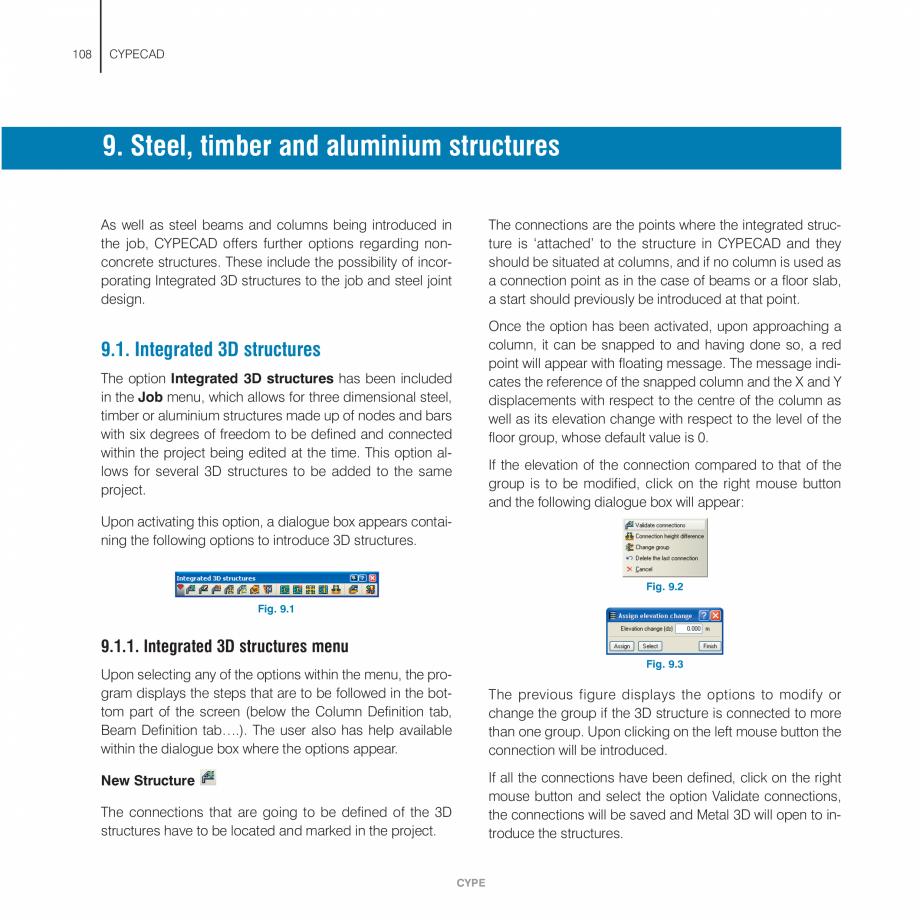 Pagina 108 - Manual de utilizare CYPE CYPECAD Instructiuni montaj, utilizare Engleza ysis.  Design...