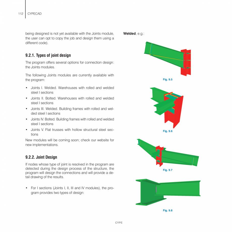 Pagina 112 - Manual de utilizare CYPE CYPECAD Instructiuni montaj, utilizare Engleza  single frame...