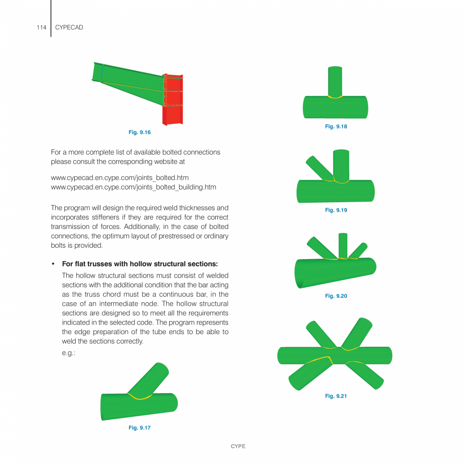 Pagina 114 - Manual de utilizare CYPE CYPECAD Instructiuni montaj, utilizare Engleza fications made ...