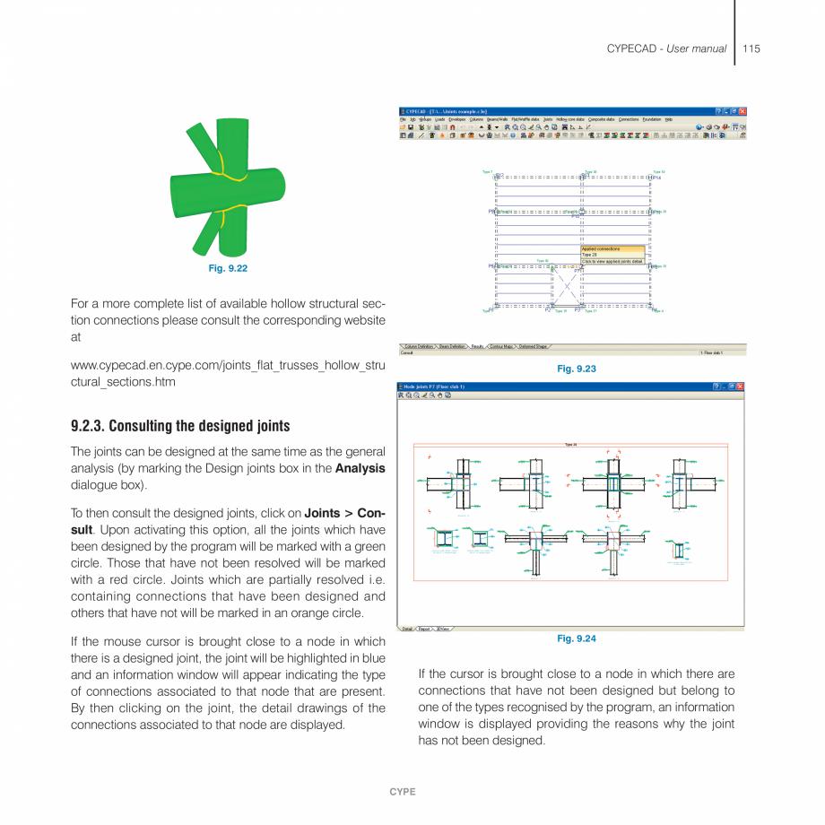 Pagina 115 - Manual de utilizare CYPE CYPECAD Instructiuni montaj, utilizare Engleza n, the Frame...