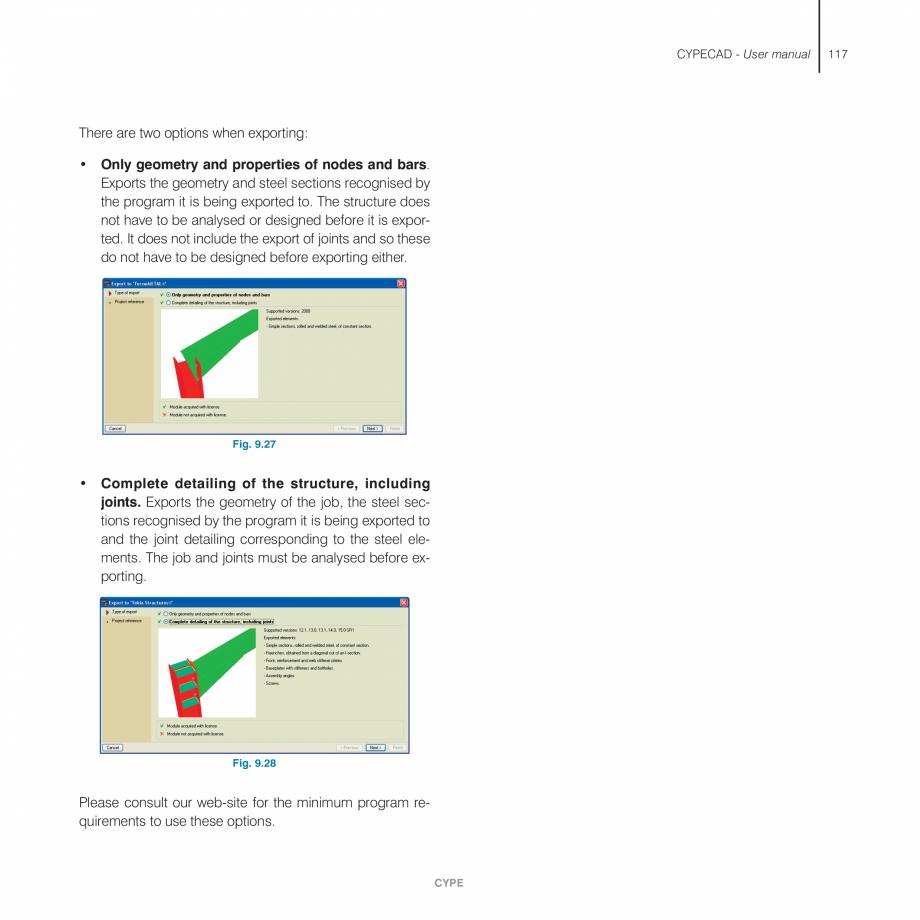 Pagina 117 - Manual de utilizare CYPE CYPECAD Instructiuni montaj, utilizare Engleza e the diameter ...