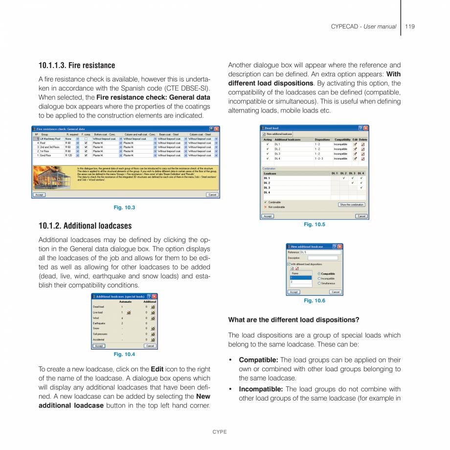 Pagina 119 - Manual de utilizare CYPE CYPECAD Instructiuni montaj, utilizare Engleza he forces...