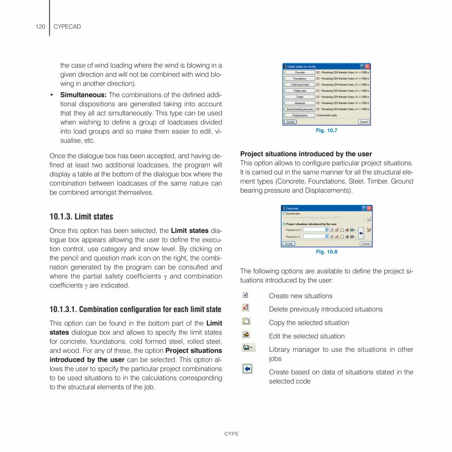 Pagina 120 - Manual de utilizare CYPE CYPECAD Instructiuni montaj, utilizare Engleza w on screen can...