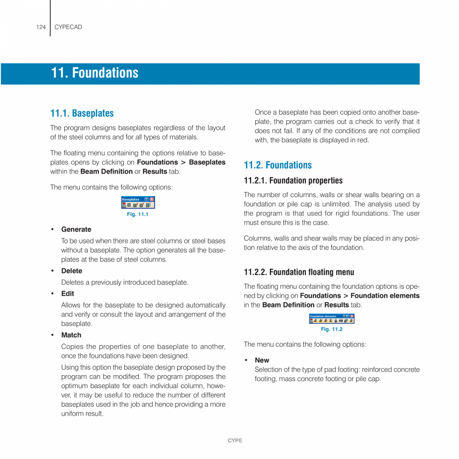 Pagina 124 - Manual de utilizare CYPE CYPECAD Instructiuni montaj, utilizare Engleza tomatically...
