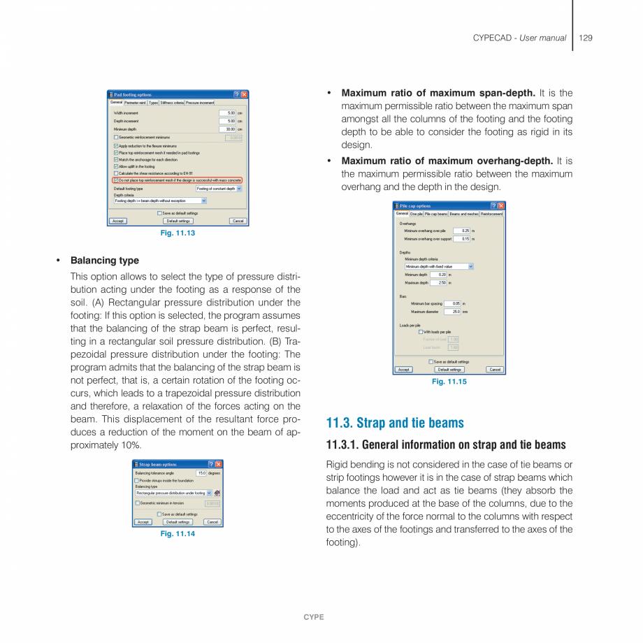 Pagina 129 - Manual de utilizare CYPE CYPECAD Instructiuni montaj, utilizare Engleza s stage, the...