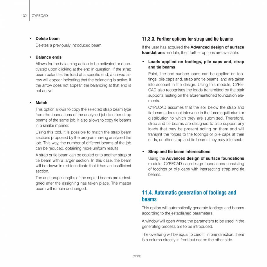 Pagina 132 - Manual de utilizare CYPE CYPECAD Instructiuni montaj, utilizare Engleza th aggressive...