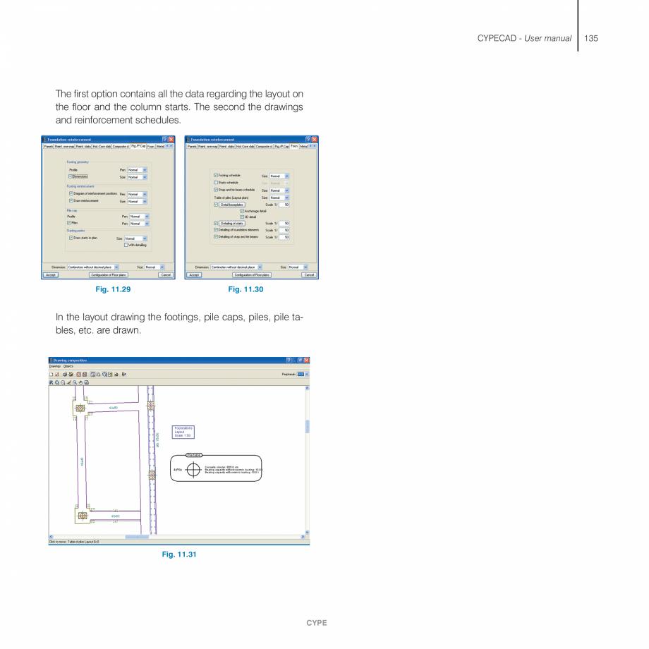 Pagina 135 - Manual de utilizare CYPE CYPECAD Instructiuni montaj, utilizare Engleza  automatically ...