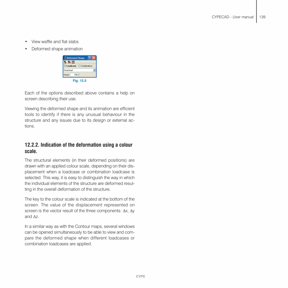Pagina 139 - Manual de utilizare CYPE CYPECAD Instructiuni montaj, utilizare Engleza in case the are...
