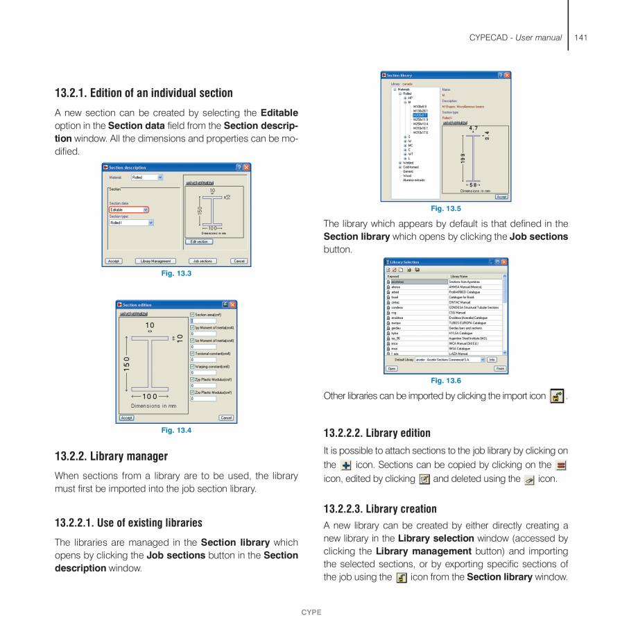 Pagina 141 - Manual de utilizare CYPE CYPECAD Instructiuni montaj, utilizare Engleza in tension,...