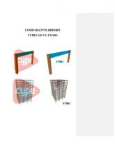 Studiu comparativ Cypecad vs. Etabs CYPE