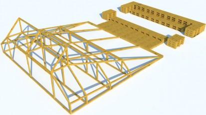 Software pentru proiectarea in constructii / Proiect Metal3D