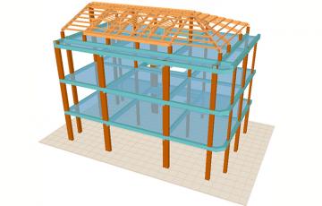 Software de proiectare elemente din beton armat si structuri metalice CYPECAD este un program de analiza structurala si detaliere pentru proiectarea elementelor din beton armat si structurilor metalice. Se poate folosi pentru proiectarea caselor de locuit, cladirilor etajate si lucrarilor civile.