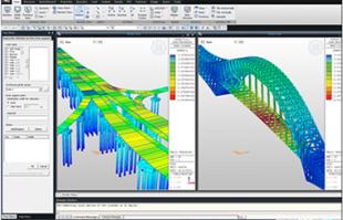 Software de proiectare si analiza structurala Solutiile de proiectare MIDAS IT acopera principalele domenii de activitate ale ingineriei civile si mecanice, oferind versiuni de calcul atat pentru companii mici cat si marilor institute de proiectare.