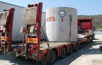 Separatoare de hidrocarburi din beton armat Sunt separatoare de produse PETROLIERE si HIDROCARBURI din BETON ARMAT pentru preepurarea apelor uzate cu uleiuri minerale.