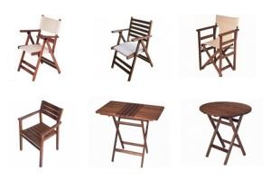Mobilier pentru gradina si terase Compania Parla Ersah va ofera mobilier pentru terase din lemn masiv special tratat si uscat pentru exterior, metal, ratan sau mase plastice.