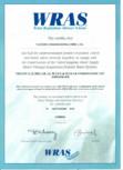 Certificat WRAS STERN - TRENDY, TRENDY 1000 PLUS BRE