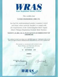 Certificat WRAS