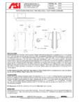 Dispenser de hartie igienica pentru montaj in cabine American Specialties Inc. USA - 0032