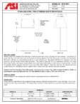 Cos de gunoi Free Standing cu capac American Specialties Inc. USA - 0810