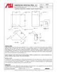 Cos de gunoi cu montaj aparent pentru colt American Specialties Inc. USA - 0829