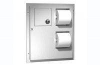 Accesorii din inox pentru spatii sanitare publice Gama de accesorii din inox pentru spatii sanitare publice ASI USA cuprinde o gama larga de produse precum dispensere de servetele si hartie igienica, cosuri de gunoi, perie wc etc.