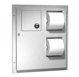 Accesorii din inox pentru spatii sanitare publice American Specialties Inc. USA