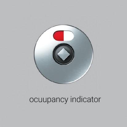 Indicator de ocupare pentru partitii din HPL Elegance Partitions Elegance Cubicles Partitii din HPL pentru bai