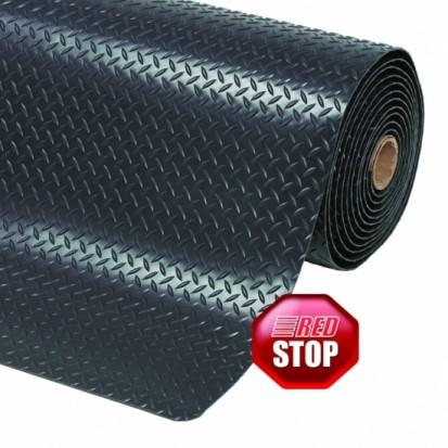 Covor ergonomic CUSHION TRAX - negru CUSHION TRAX Covor ergonomic